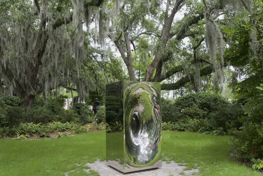 ... Anish Kapoor, 1997, Sculpture Garden, New Orleans Museum of Art (