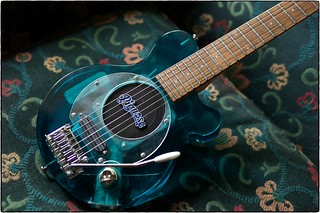 Lucite Pignose Guitar, July 15, 2015 | by Maggie Osterberg