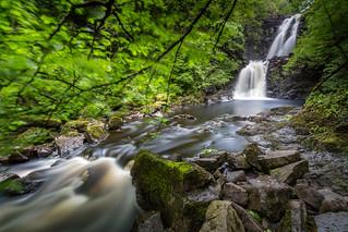 The Rha Falls, Skye. | by Chris Golightly