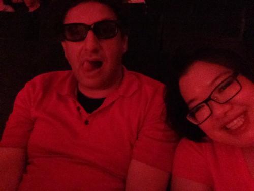 PIC: @CartoonFlophous & @jozjozjoz at advanced screening of #ANTMAN! #Aushenker | by @jozjozjoz