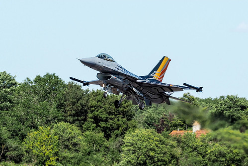 Belgian f16 final approach | by Brian Wadie Photographer