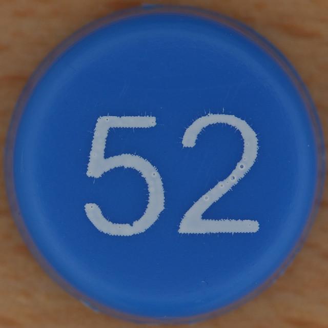 Bingo Number 52