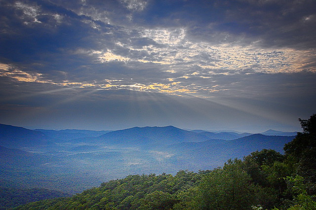 Appalachian morning-explored