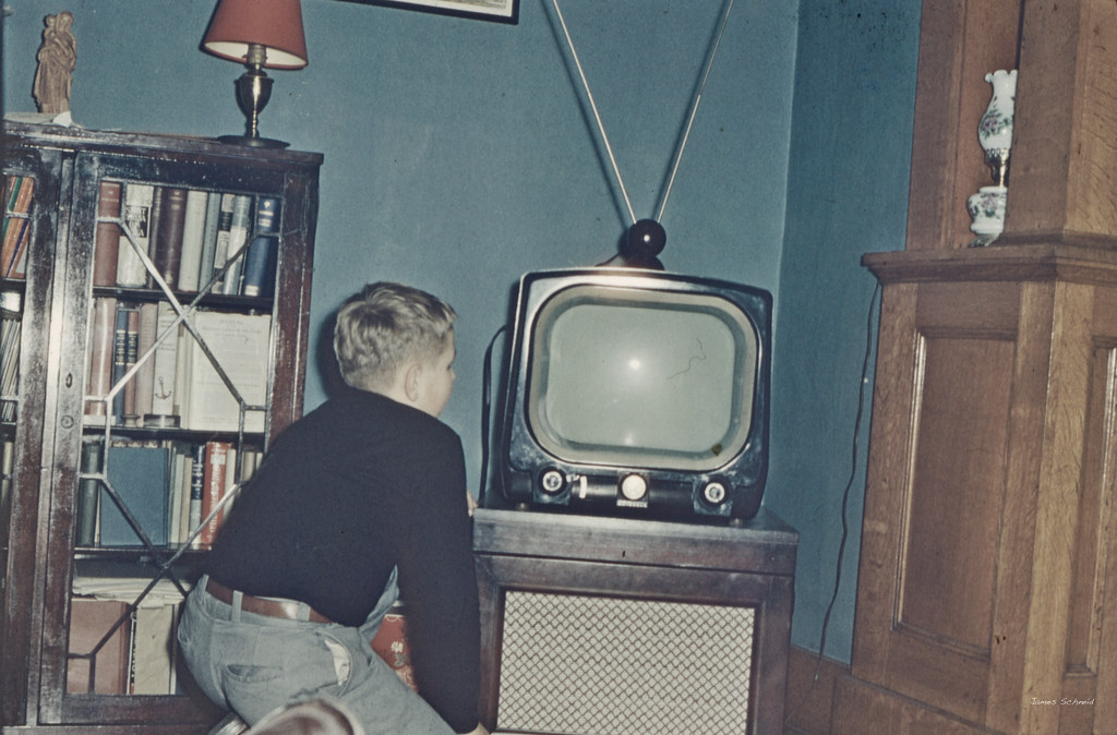 Our First Television