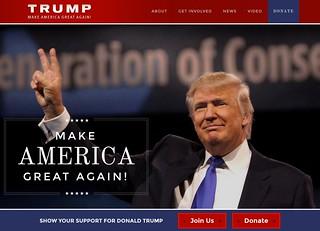 Trump 1 | by Judith E. Bell