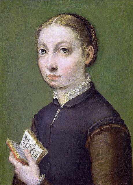 Sofonisba Anguissola - Self portrait [1554]