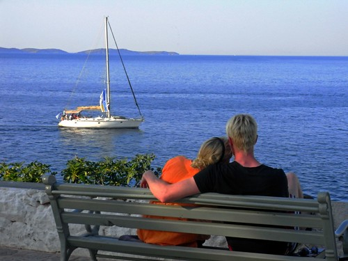 Couple and sailboat | by Marite2007