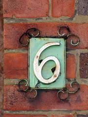 number 6   by jontintinjordan