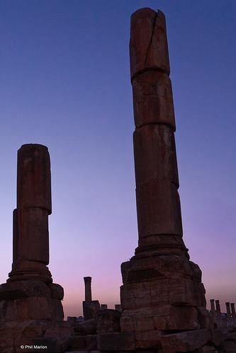 The Roman ruins of Jerash, Jordan | by Phil Marion