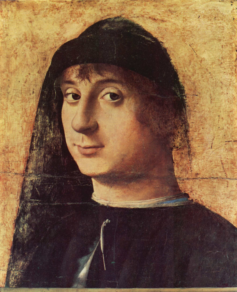 Antonello da Messina - Portrait of a young man 2 - Philadelphia MA