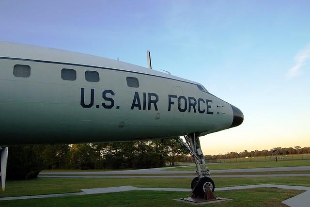 C-121C Constellation, U.S. Air Force, (54-180), South Carolina, Charleston Air Force Base