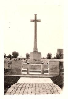 Tyne Cot Cross of Sacrifice, Ypres