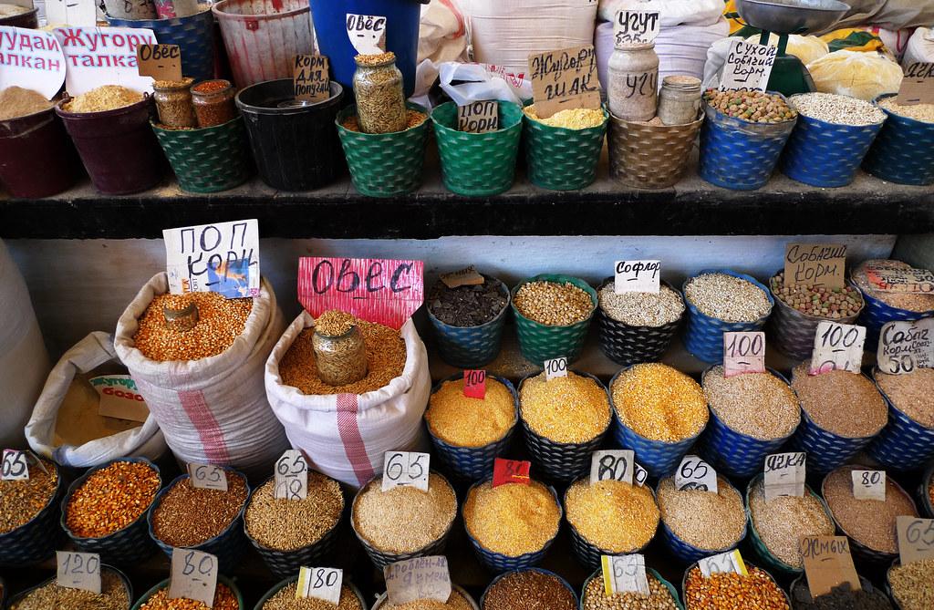 Bishkek / Бишкек (Kyrgyzstan) – Corn on Osh Bazaar | Flickr
