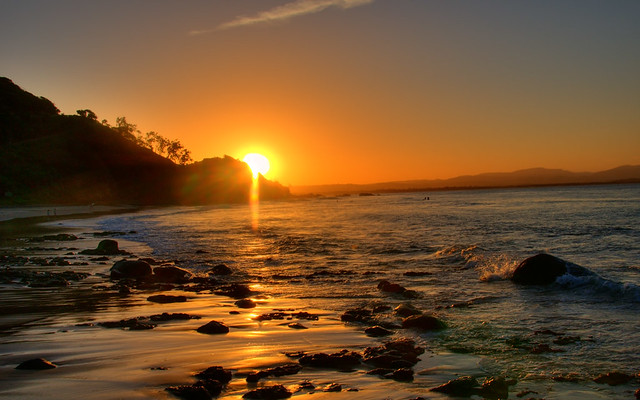 Byron Bay Sunset.