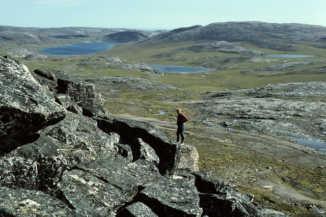 Gorgeous landscape west of Cape Dorset, southern Baffin Island