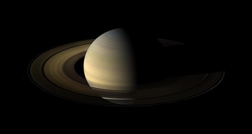 A Long Night Falls Over Saturn's Rings | by NASA Goddard Photo and Video