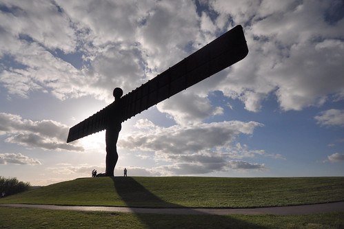 Angel of the North silhouette | by Paul Stevenson