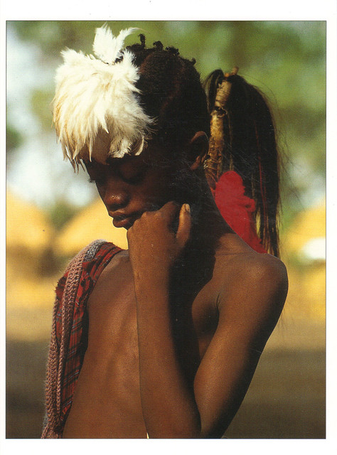 Bassari Boy Postcard