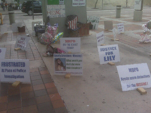 Justice for Lily Aramburo Hunger Strike Downtown Miami | by seoyogini