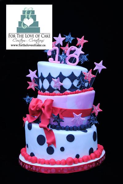 BC4109 - topsy turvy cake
