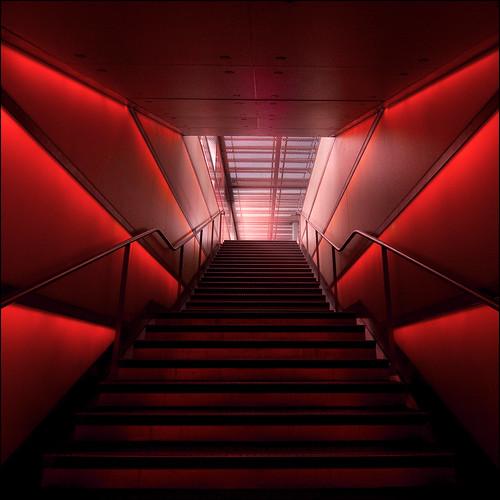 light red up lines architecture stairs destination zürich barbera shopville 148410 myvoteisforberlinagain