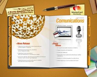 Newsletter Mastercard - Developed for: PGAdvertising US