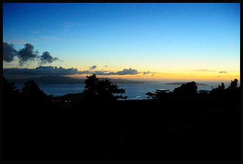 sunset japan landscape nikon asia wideangle spooky abandonded 日本 okinawa jpg nikkor orient 沖縄 fareast manualfocus deserted bankrupt leftbehind pacifc ryukyuislands d700 sunsetviewinn shahbay