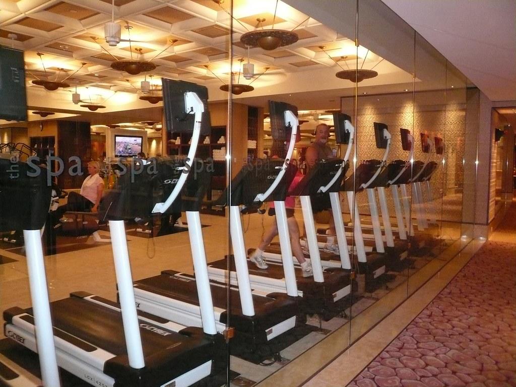 Spa Exercise Room Wynn Hotel Las Vegas July 2009 Feel Free Flickr