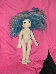 doll in progress
