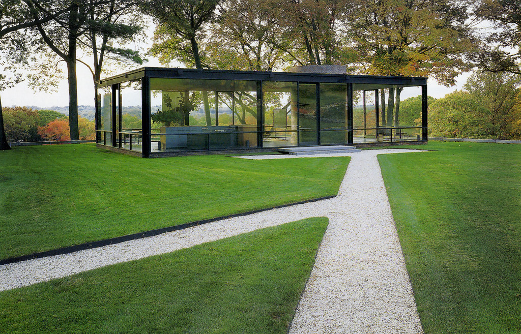 Glass House Philip Johnson Arch All Images Posts Are Fo Flickr