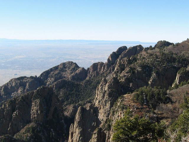 Looking out over ABQ