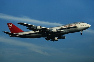 Northwest Boeing 747-200 | by Deanster1983 who's on and off