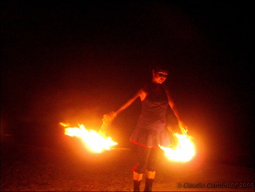Dancing with Fire - Teatro del Fuoco 2009 | by Claudio Giambrone - Travel Photography