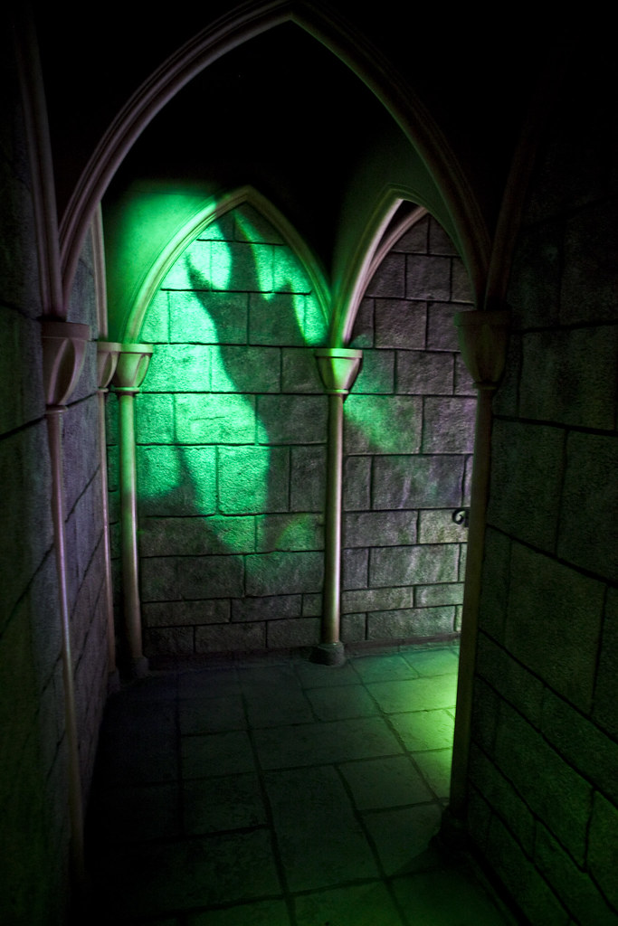 Inside Sleeping Beauty's Castle | Don't miss the shadow of M