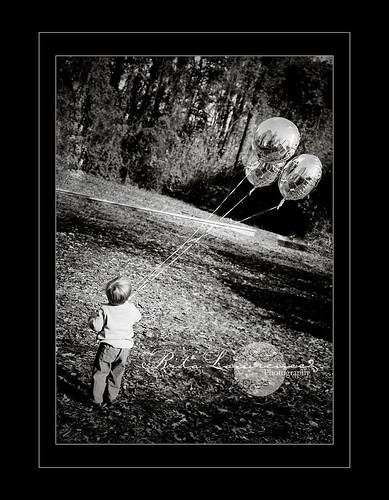 Boy and his balloons | by Bitsy Baby Photography [Rita]