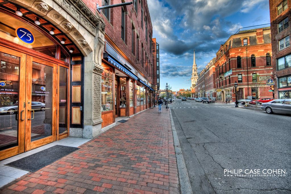 Congress Street by Philip Case Cohen