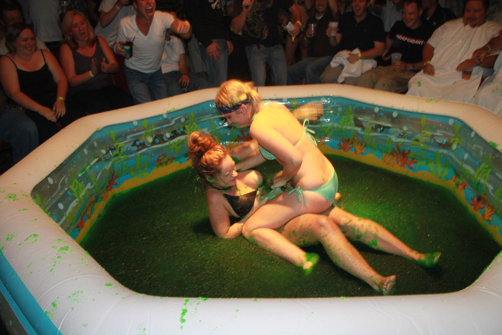 Bikini jello wrestling gone wrong