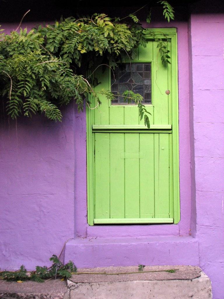 Green Door Purple House Dan Noon Flickr