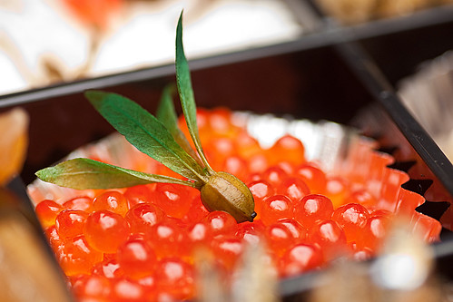 Japanese New Years Cuisine (Salmon Roe) | by UNSETUSERNAME
