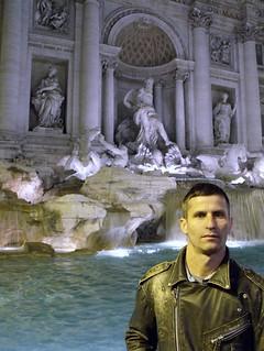 Fontana di Trevi, Monte Quirinale, Roma, Italia.