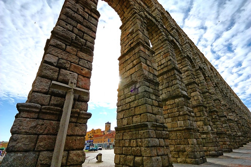The Aqueduct and its Crucifix III   by trioptikmal