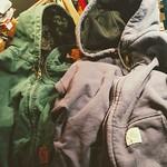 Carhartt Zip Up Hoodies & 90s Duck Jacket