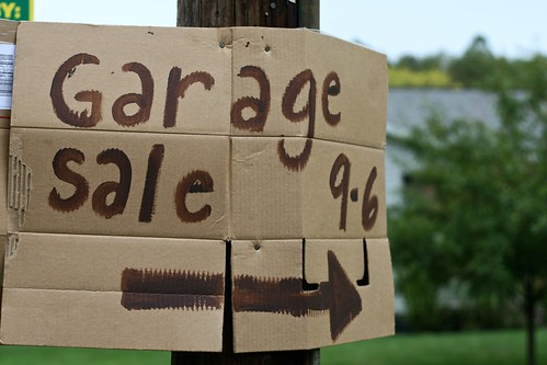 Garage Sale Sign | by Chiot's Run