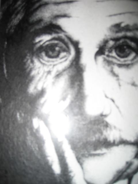 Einstein closeup