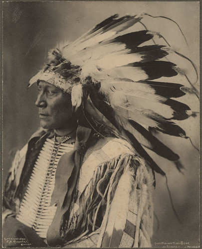 Chief Hollow Horn Bear, Sioux | by Boston Public Library
