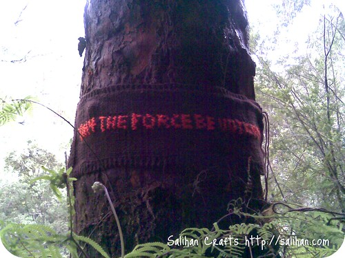 """May the force be with you"" 
