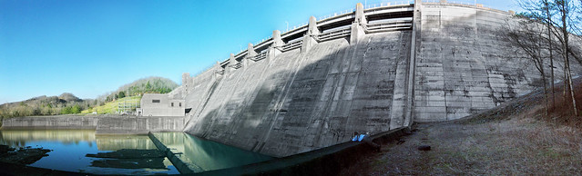 West Side of Dale Hollow Dam, Clay Co, TN