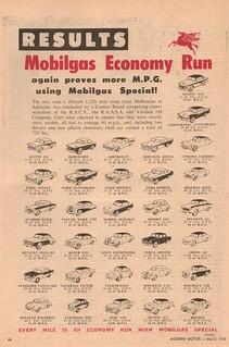 1957 Australian Mobilgas Economy Run
