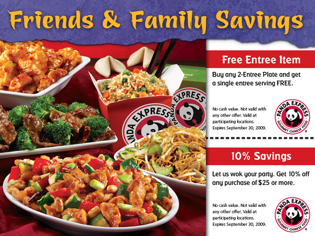 photograph relating to Panda Express Printable Coupons titled Printable Panda Convey September 2009 Coupon Purchase a Free of charge E