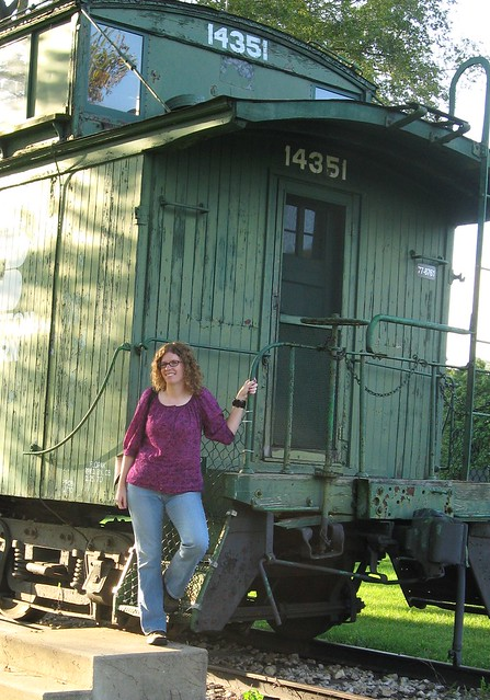 Amy and Caboose in DuPage County, IL